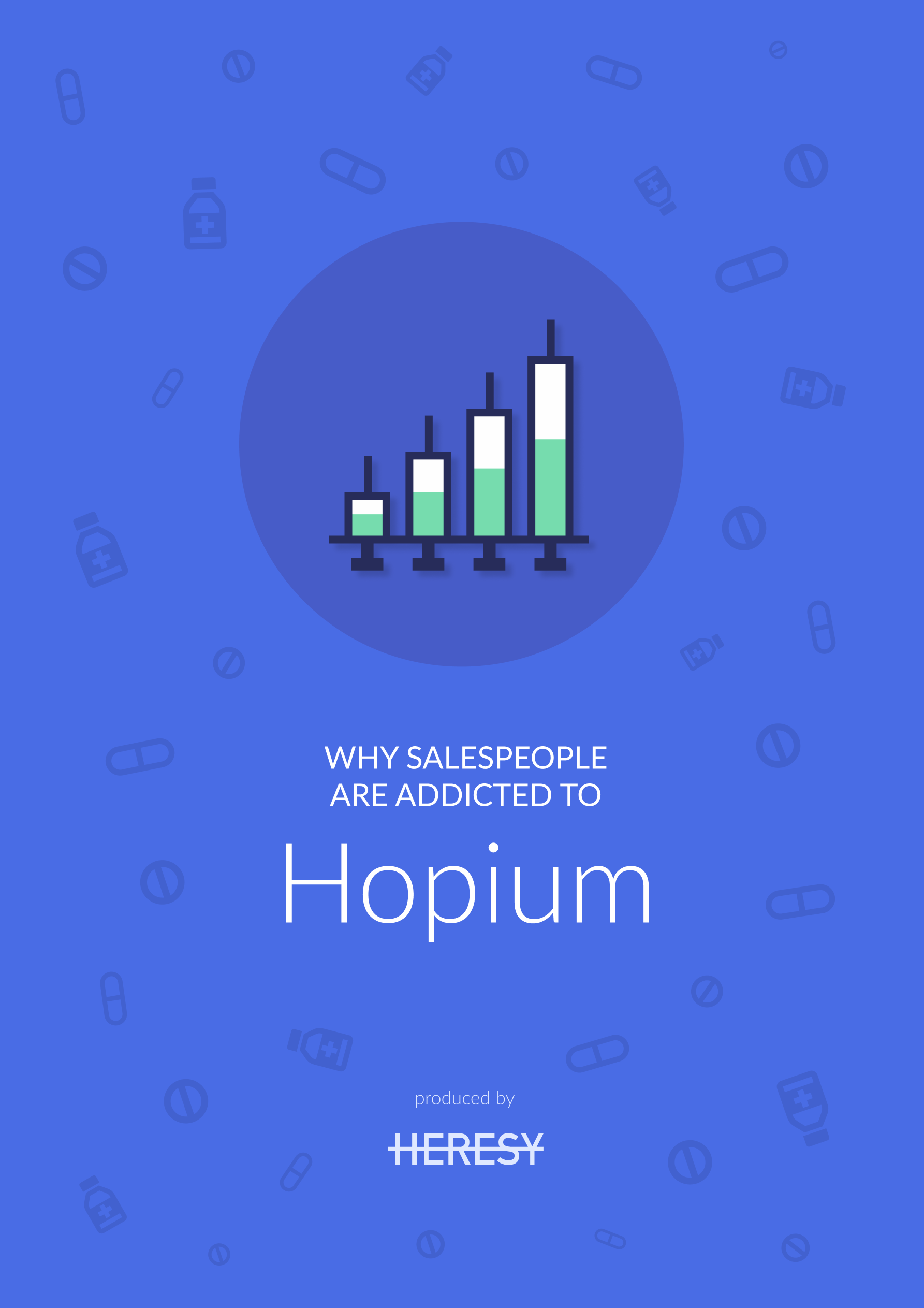 "Why salespeople are addicted to ""hopium""?"