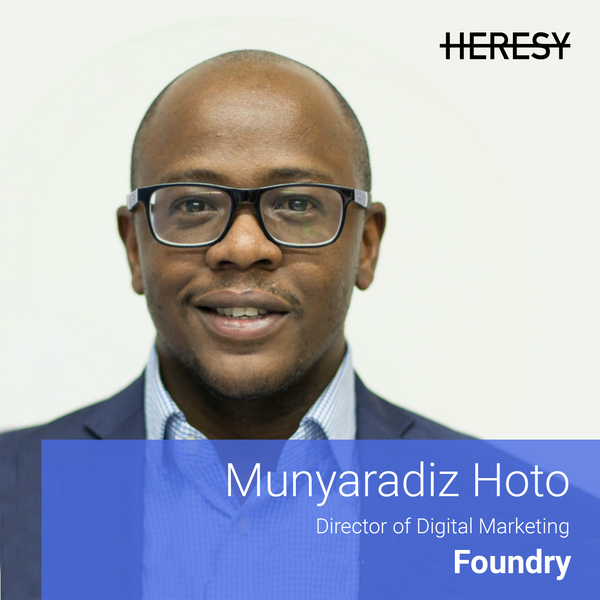 Heresy E13: Munyaradiz Hoto on Operationalising Your Messaging